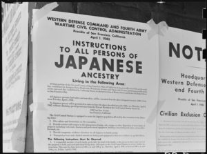 Internement des Japonais