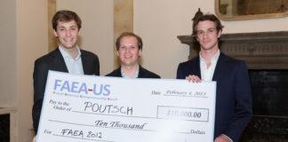 Les trois cofondateurs de Poutsch