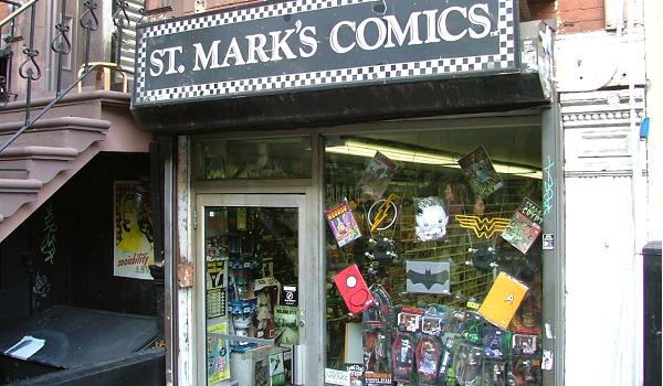 st marks comics
