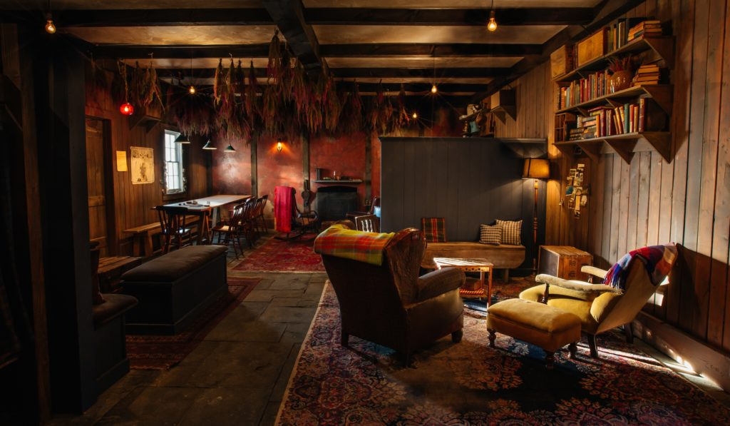 The Lodge at Gallow Green Mckittrick Hotel rooftop New York