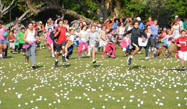 Easter Marshmallows Drop. Photo DR