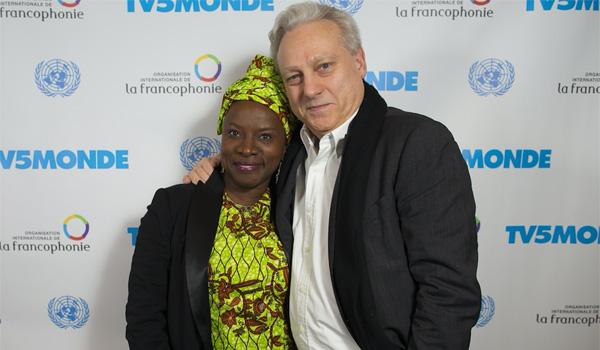 Yves Bigot et Angelique Kidjo