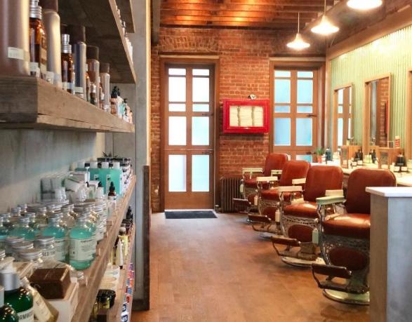 Cotter Barber café insolite New York