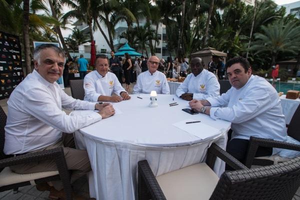 Le jury. Photo Youri Fatianoff