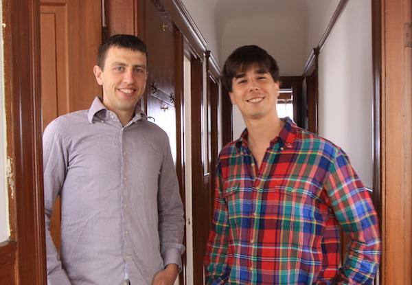 Louis Mikal et Jean-Loick Michaux, fondateurs de Serendipia Nest