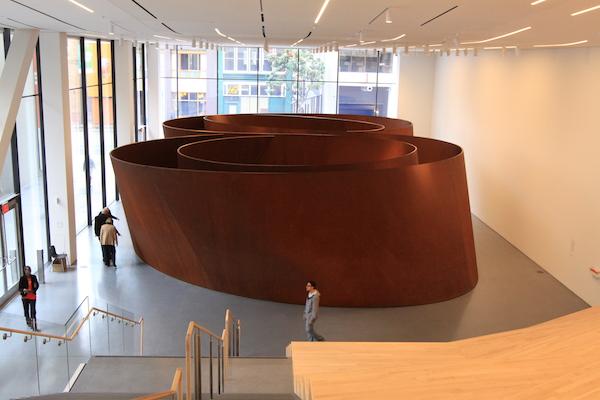 """""""Sequence"""", de Richard Serra"""