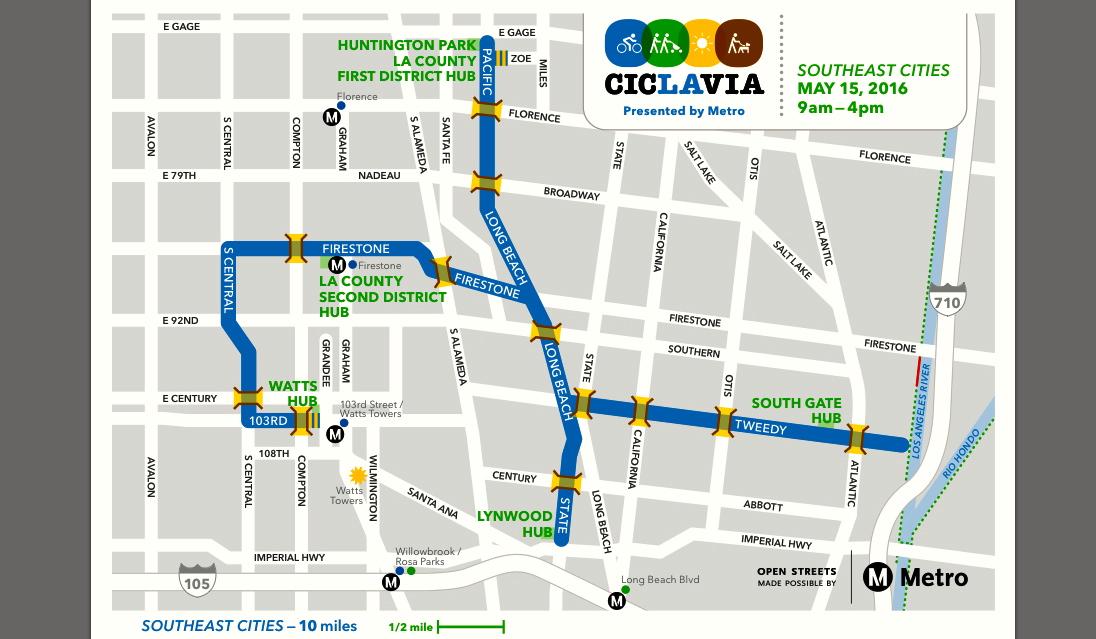 map CicLAvia