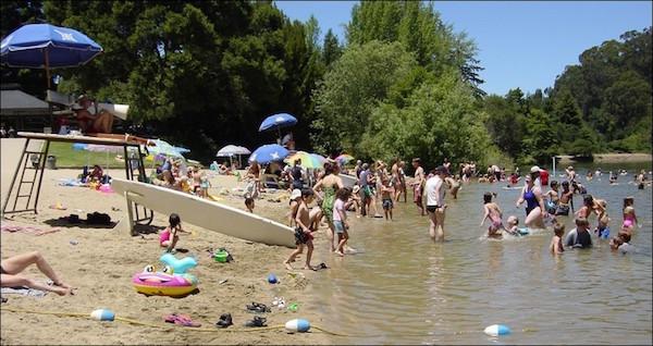 Le lac Anza à Berkeley