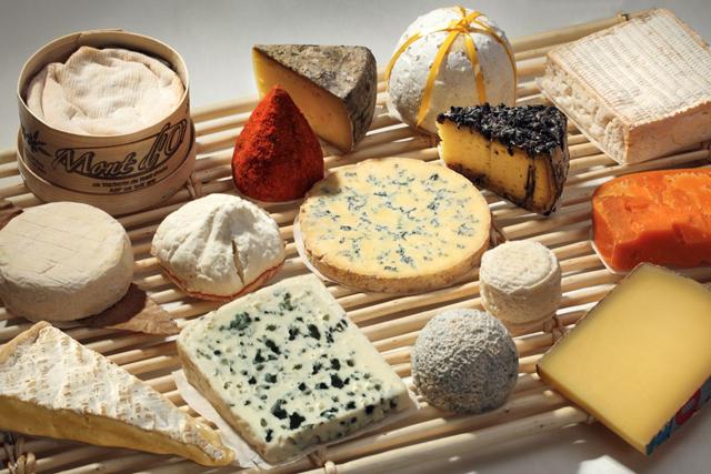 Les-fromages-français