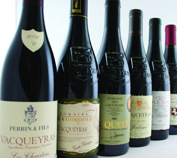 Vacqueyras_french_wine