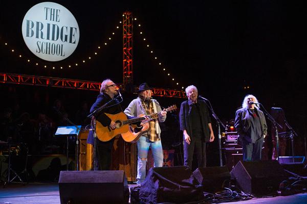 Bridge School Benefit concert (John Green/Bay Area News Group)
