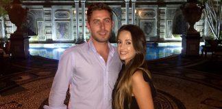 David Beyrand et sa femme Marine