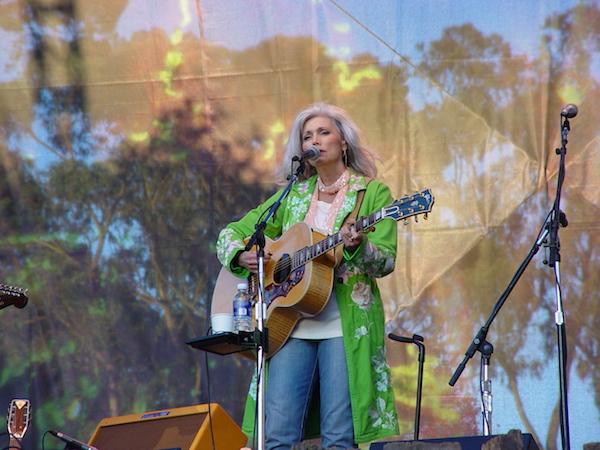 Emmylou Harris, une habituée du Hardly Strictly Bluegrass festival