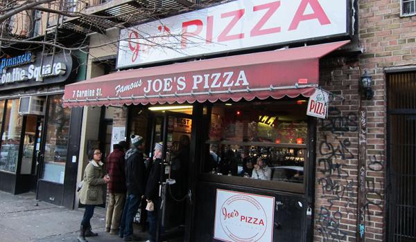© Joe's Pizza
