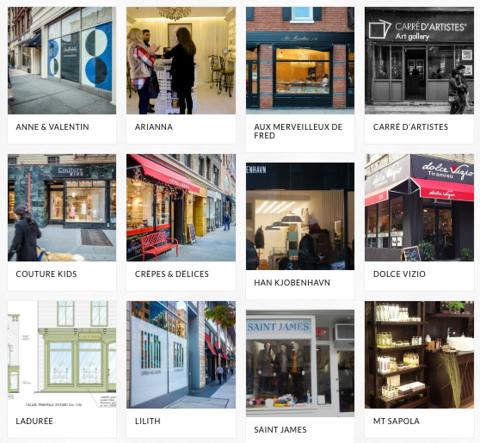 Quelques boutiques ouvertes aux Etats-Unis par Bertwood Realty