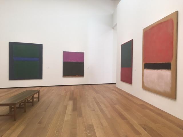 Une pièce entière dédiée à Mark Rothko