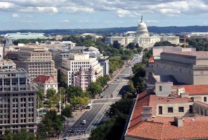 Pas un seul gratte-ciel a Washington