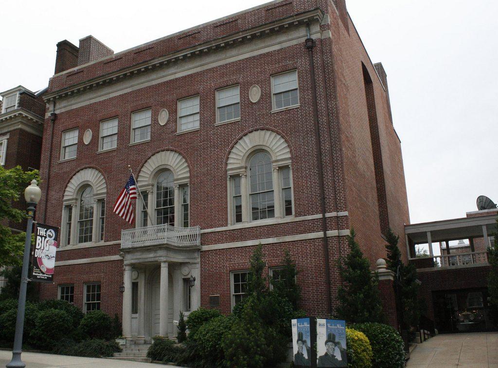La maison de Woodrow Wilson a Washington