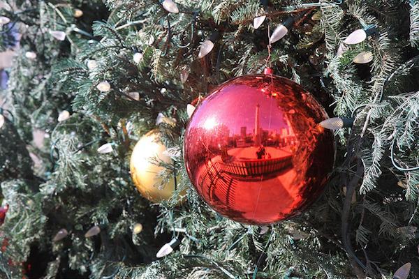 Le sapin de Noël sur Union Square
