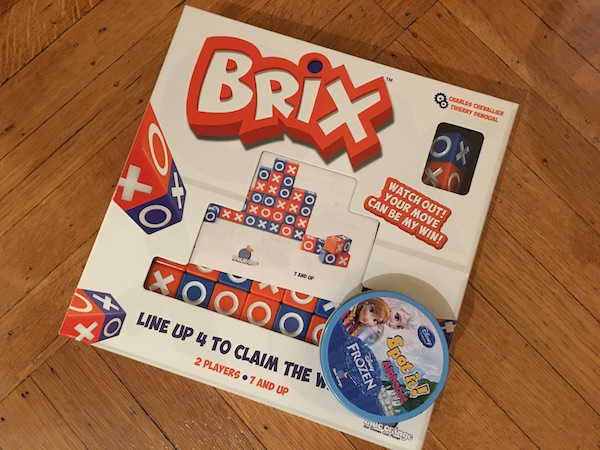 Brix et Spot It, deux jeux Blue Orange