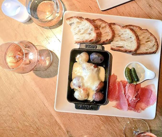 Raclette a ENO Wine Bar in Georgetown - photo credit: ENO Wine Bar