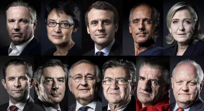 Candidats élection présidentielle française