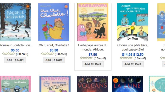 Ou Trouver Des Livres Pour Enfants En Francais A New York