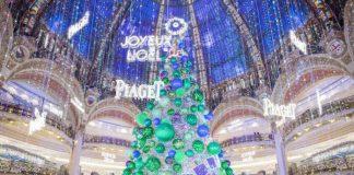 Les Galeries Lafayette vous offrent un cadeau pour les fêtes à Paris