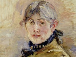 Berthe Morisot, Self-Portrait, 1885, oil on canvas
